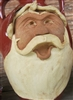 "Traditions Pottery SANTA CLAUS FACE JUG by Michael Calhoun. Wheel thrown, hand sculpted.  8 to 9"" tall. Pre order, Ugly Jug, Collectors, Great for Christmas"