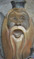 "Traditions Pottery CLAY SPIRIT FACE JUG by Michael Calhoun. Wheel thrown, wood fired, hand sculpted.  10-12"" tall. Pre order, Ugly Jug, Collectors,"