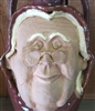 "Traditions Pottery handmade Double Face jug,  Mr & Mrs Claus jugs. Jug will be similar to the photos seen below. Each jug will be at least 12"" tall and 6"" across at the widest point"