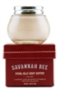 Savannah Bee Company, Royal Jelly Body Butter. 1.65  oz. Original scent, Tupelo Honey, and new Rosemary / Lavender. With natural essential oils and honey.  Glides on smooth and creamy. Comes in glass jar and gift box.
